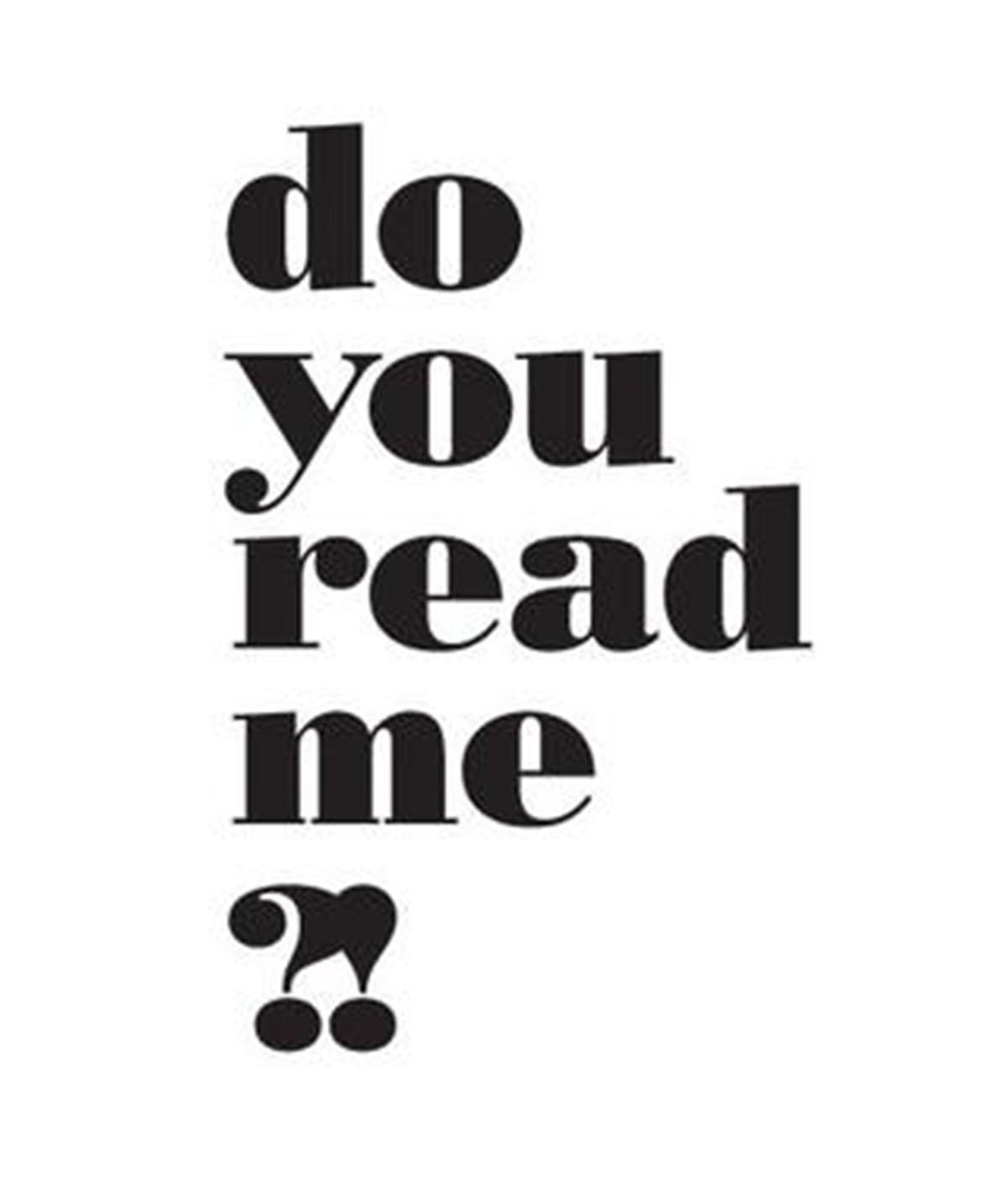 do you read me?! logo